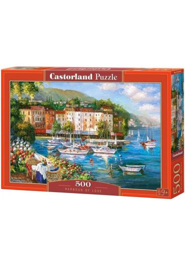 Puzzle 500 piese Harbour of Love