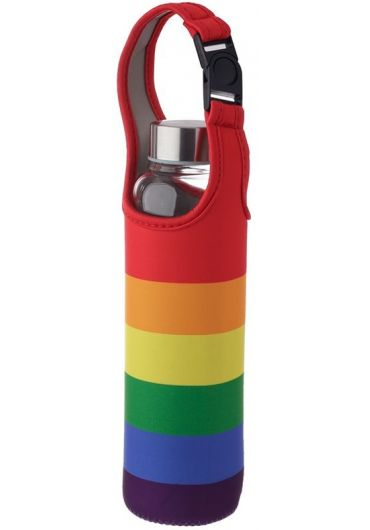 Sticla pentru apa cu husa - Somewhere Rainbow