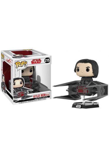 Figurina Funko Pop! Star Wars Episode VIII - Kylo Ren on Tie Fighter