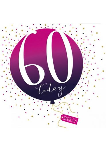 Felicitare - 60 Years Today