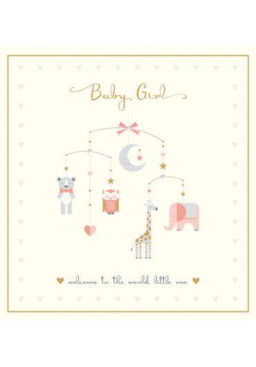 Felicitare - Baby Girl