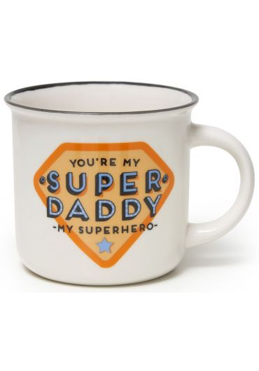 Cana portelan Cup-Puccino - Super Daddy