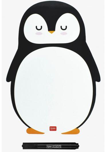 Tablita magnetica cu marker - Penguin
