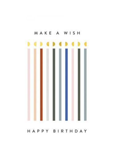 Felicitare - Happy Birthday - Make a Wish