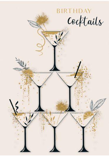 Felicitare - Birthday Cocktails