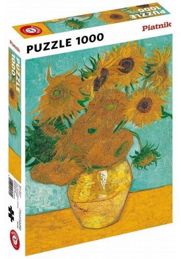 Puzzle 1000 piese Floarea soarelui - Vincent van Gogh