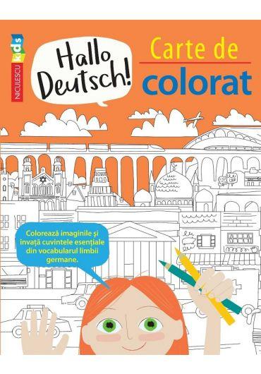 Hallo Deutsch! Carte de colorat