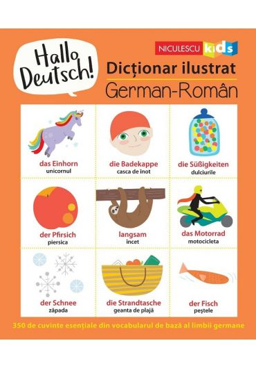 Hallo Deutsch! Dictionar ilustrat