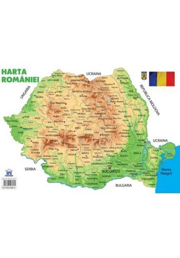 Plansa - Harta Romaniei