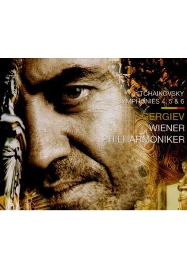Gergiev, Wiener Philharmoniker - Tchaikovsky Symphonies 4, 5, & 6 CD