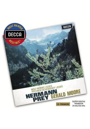 Gerald Moore, Hermann Prey - Wolf: Morike Lieder, Pfitzner: Eichendorff Lieder CD