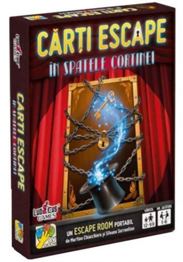 Carti Escape - In spatele cortinei, ed. 2