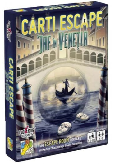 Carti Escape - Jaf in Venetia, ed. 2