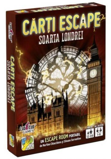 Carti Escape - Soarta Londrei, ed. 2