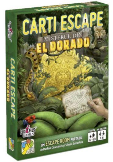 Carti Escape - Misterul din Eldorado, ed. 2