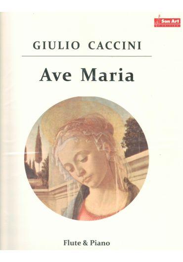Ave Maria. Flute & Piano. Partituri