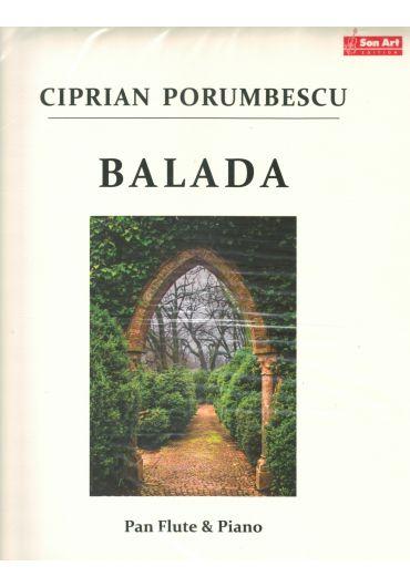 Balada. Pan Flute & Piano. Partituri