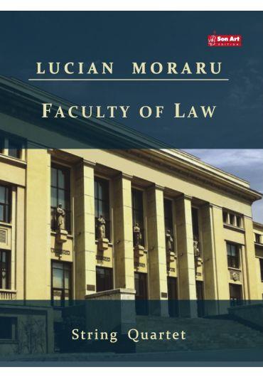Faculty of Law. String Quartet. Partituri