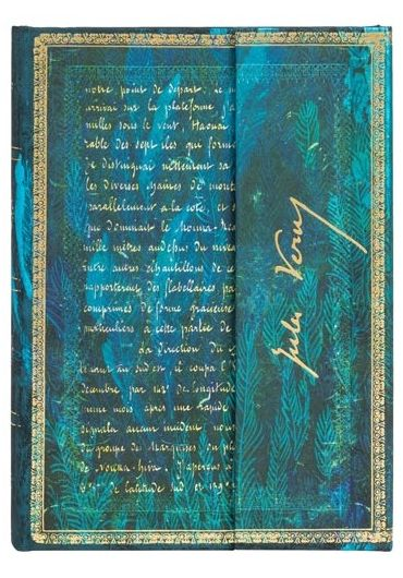 Jurnal - Midi, Lined - Verne, Twenty Thousand Leagues