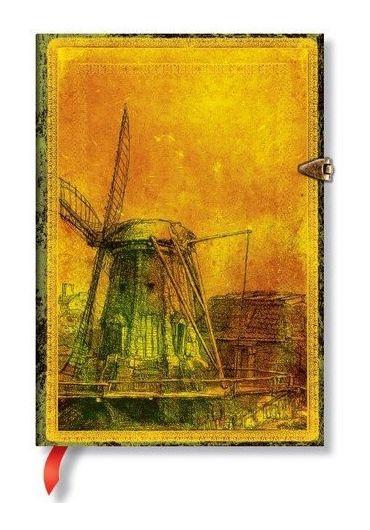 Jurnal - Midi, Lined - Rembrandt's 350th Anniversary