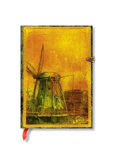 Jurnal - Midi, Unlined - Rembrandt's 350th Anniversary