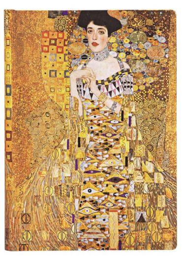 Jurnal - Midi, Lined - Gustav Klimt's - Portrait of Adele