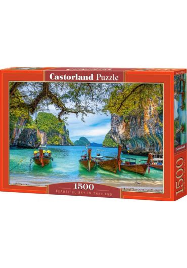 Puzzle 1500 piese - Beautiful bay in Thailand