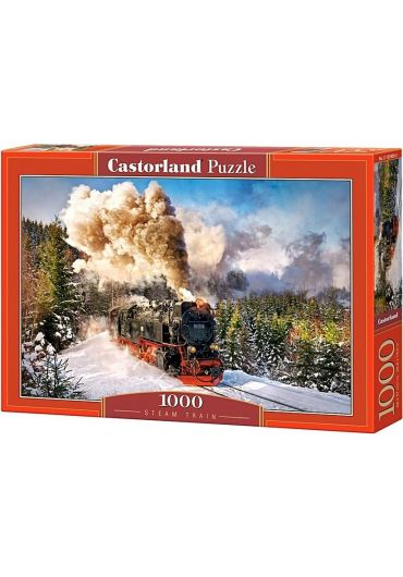 Puzzle 1000 piese - Steam Train