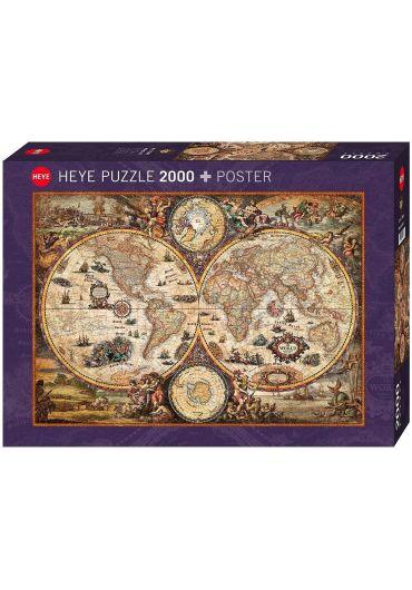 Puzzle 2000 piese Vintage World