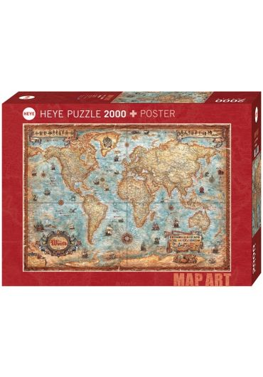 Puzzle 2000 piese The World