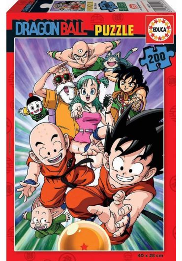 Puzzle 200 piese Dragon Ball