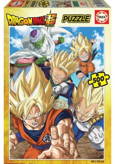 Puzzle 500 piese Dragon Ball