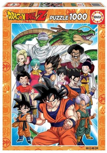 Puzzle 1000 piese Dragon Ball