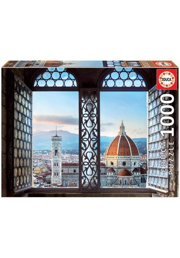 Puzzle 1000 piese Views of Florence, Italy