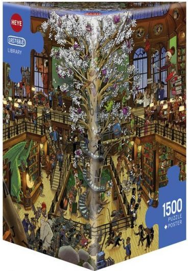 Puzzle 1500 piese Library