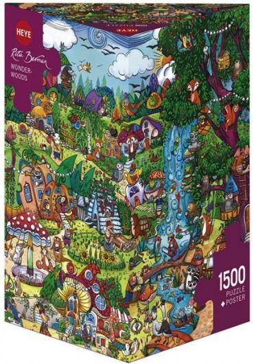 Puzzle 1500 piese Wonderwoods