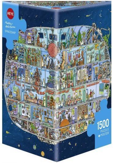 Puzzle 1500 piese Spaceship