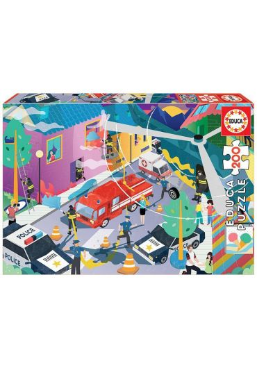 Puzzle 200 piese Emergency Services