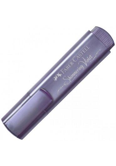 Textmarker violet metalic