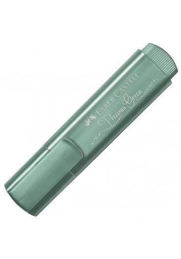 Textmarker verde metalic