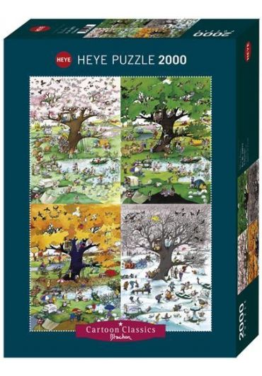 Puzzle 2000 piese 4 Seasons