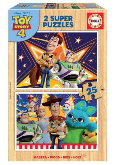 Puzzle 2 in 1 (25+25 piese) Toy Story 4