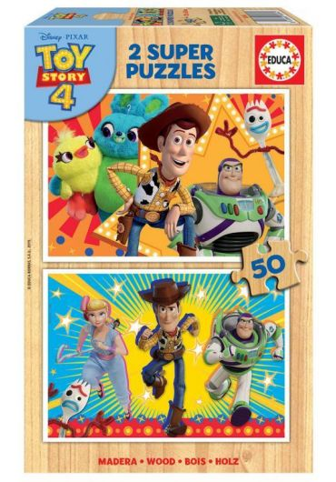 Puzzle 2 in 1 (50+50 piese) Toy Story 4