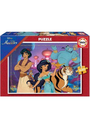 Puzzle 100 piese Alladin