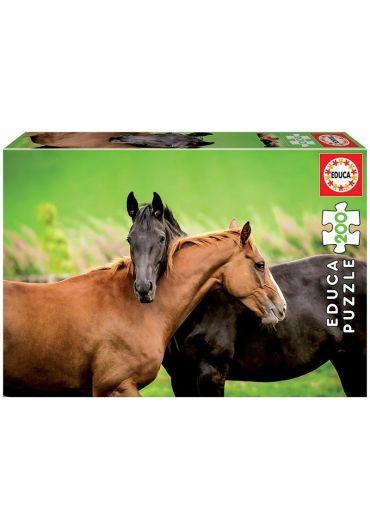 Puzzle 200 piese Horses