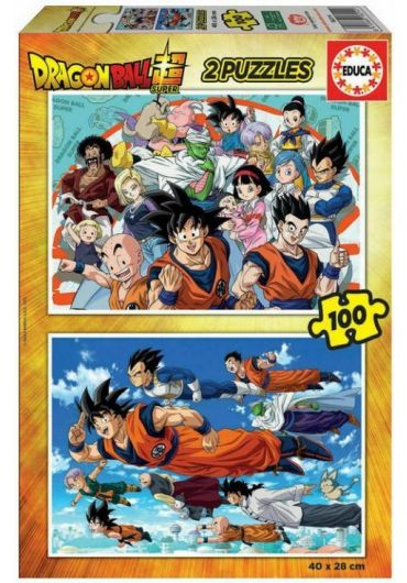 Puzzle 2 in 1 (100+100 piese) Dragon Ball
