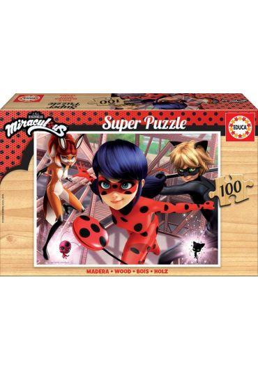Puzzle 100 piese Miraculous Ladybug