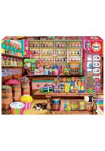 Puzzle 1000 piese The Candy Shop