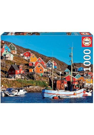 Puzzle 1000 piese Nordic Houses