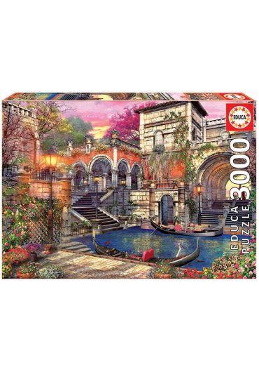 Puzzle 3000 piese Venice Courtship